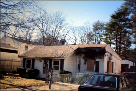 after house fire