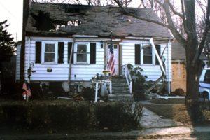 severe roof damage